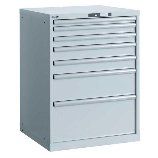 Armadio modulabile a cassetti RAL 7035 Antibatterico