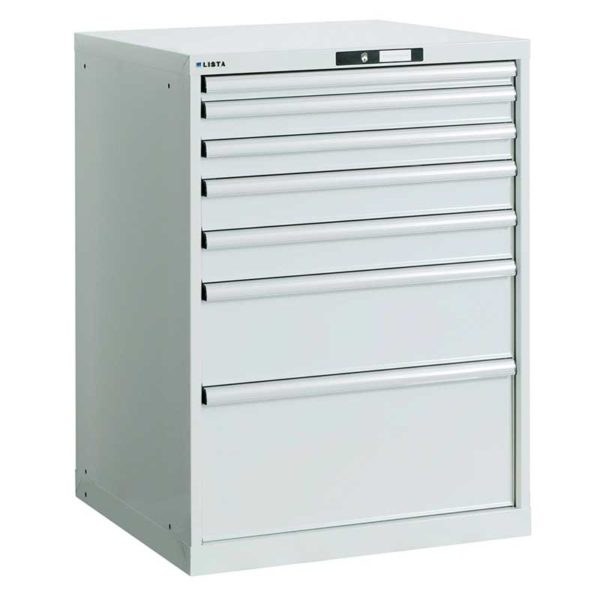 Armadio modulabile a cassetti RAL 9002